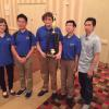 2nd at MSNCT: Lucia Rathke, William Wang, Jake Shue, Justin Young